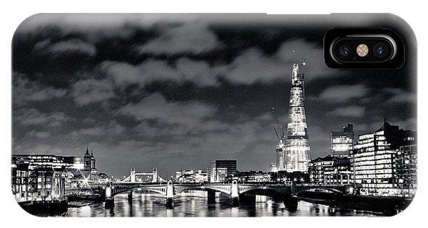London Lights At Night IPhone Case