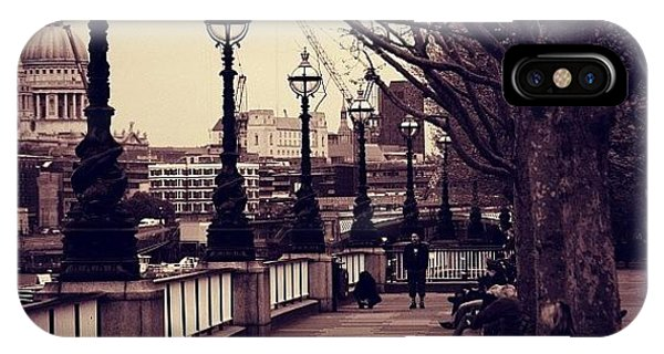 London iPhone Case - #london #southbank #stpaul by Ozan Goren