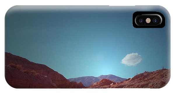 Death Valley iPhone Case - Lonely Cloud by Naxart Studio