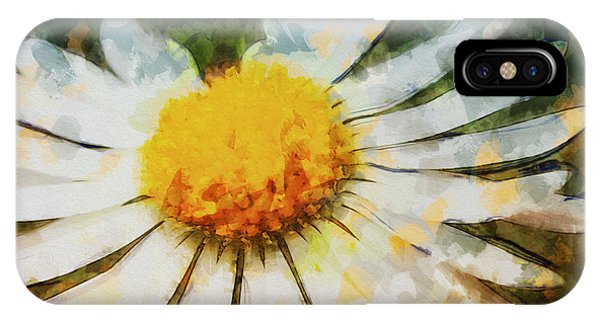 Lonely Daisy IPhone Case