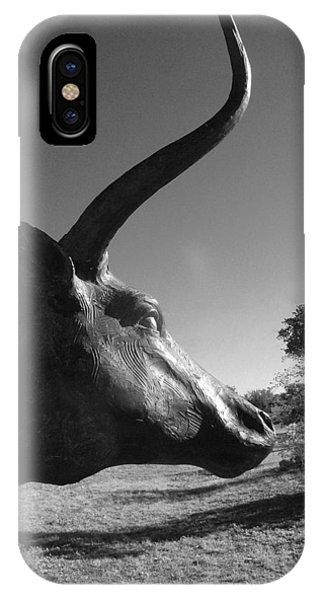 Longhorn IPhone Case