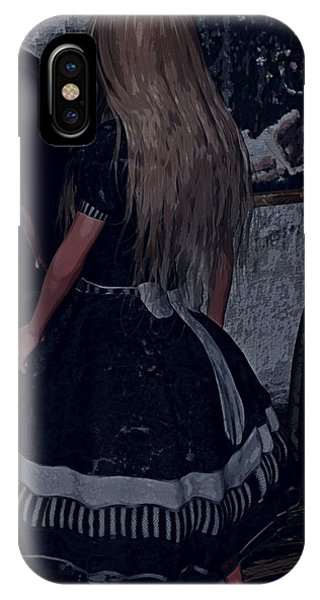 Looking Glass Alice IPhone Case