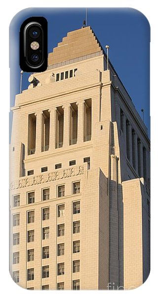 Los Angeles City Hall IPhone Case