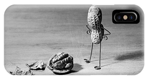 Brain iPhone Case - Lost Brains 02 by Nailia Schwarz