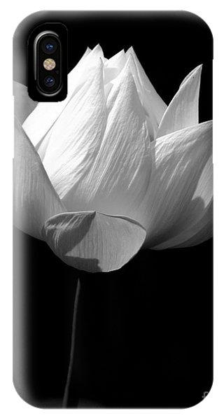 Lotus Bw IPhone Case