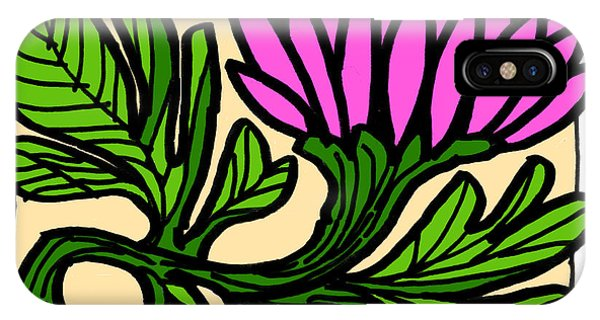 Lotus Power IPhone Case