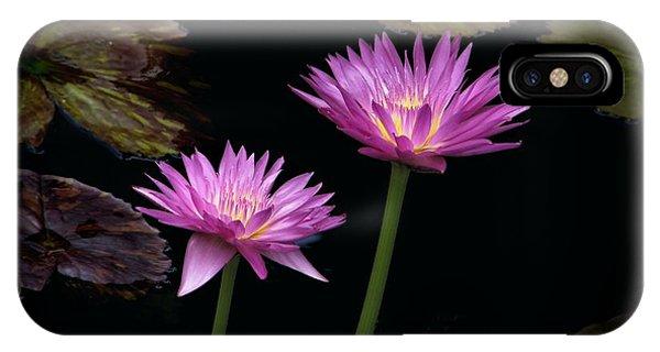 Lotus Water Lilies IPhone Case