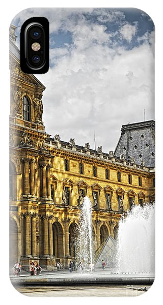The Louvre iPhone Case - Louvre by Elena Elisseeva