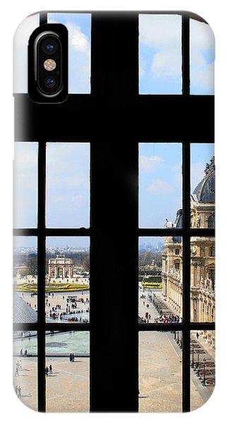 Louvre Window IPhone Case