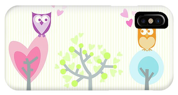Love Owls Phone Case by Nomi Elboim