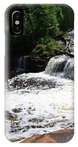 Lower Tahquamenon Falls Lll IPhone Case