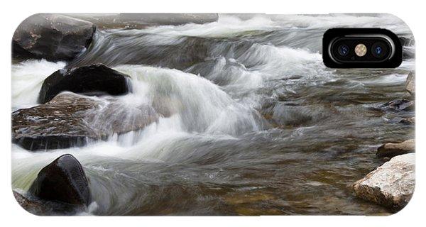 Loyalsock Creek Gentle Rapids IPhone Case