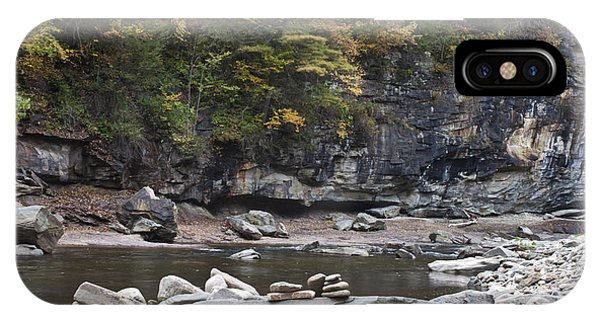 Loyalsock Creek In The Fall IPhone Case