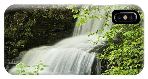 Loyalsock Waterfall IPhone Case