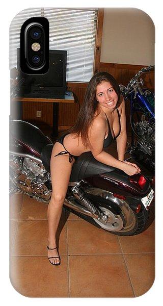 Biker 209 IPhone Case