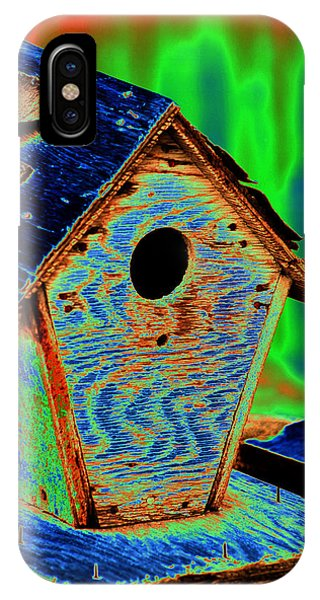 Luminescent Birdhouse IPhone Case