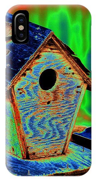 Luminescent Birdhouse IPhone Case