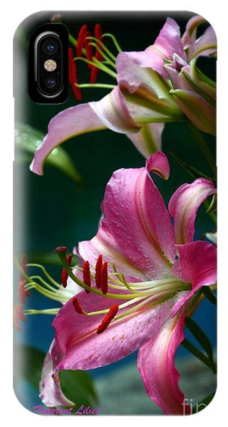 Lushes Fragrant Lilies IPhone Case