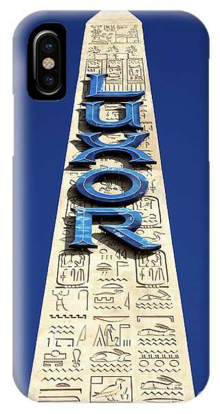 Luxor Las Vegas Obelisk IPhone Case