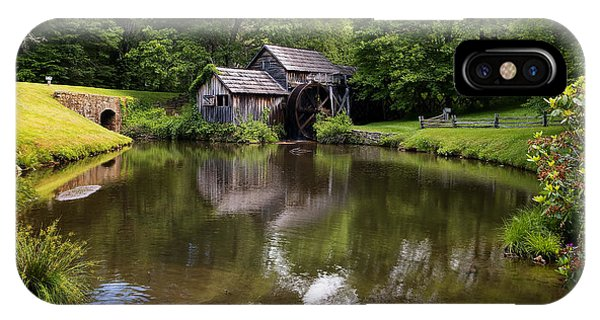 Mabry Mill And Pond IPhone Case