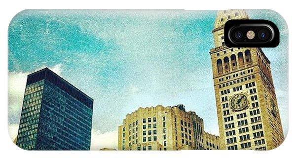Skylines iPhone Case - Madison Square Park. #nyc #manhattan by Luke Kingma