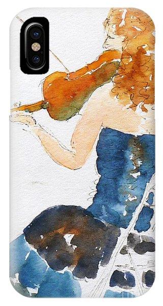 Magdalena On Viola IPhone Case