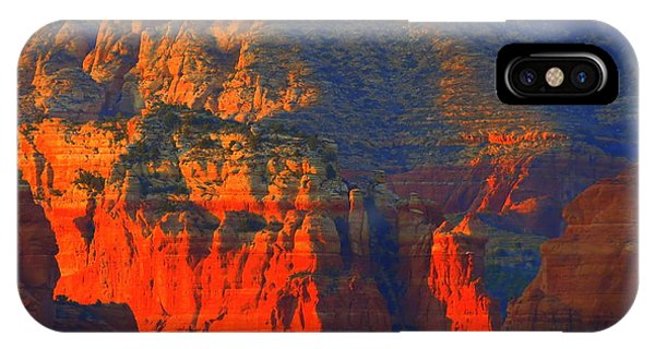Red Rock Country Glow IPhone Case