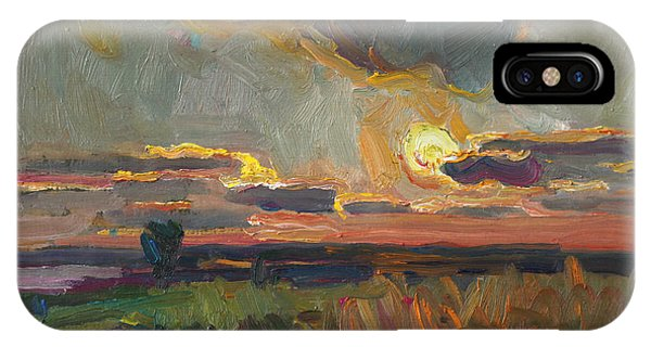 Magical World Of Sunset IPhone Case