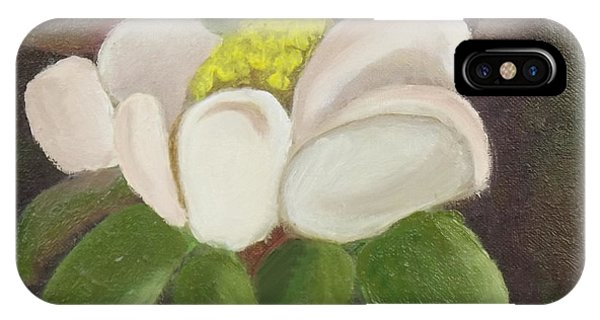Magnificient Magnolia IPhone Case