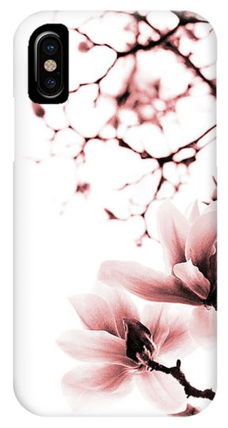 Magnolia - Monochrome IPhone Case