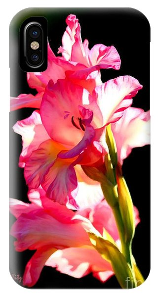 Majestic Gladiolus IPhone Case