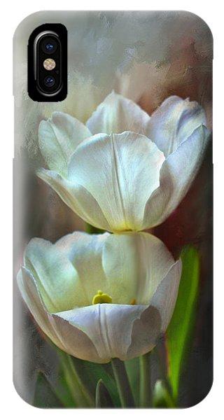 Majestic Tulips IPhone Case