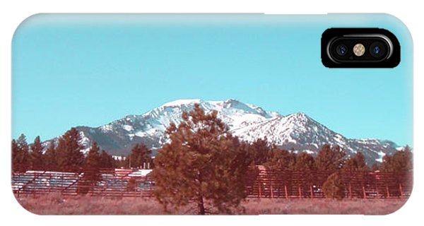 Death Valley iPhone Case - Mammoth Mountain by Naxart Studio