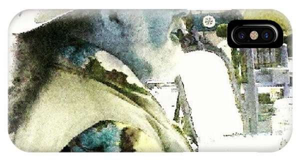 Impressionism iPhone Case - Man #android #andrography #abstract by Marianne Dow
