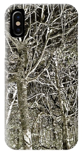 Mangrove Abstract IPhone Case