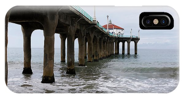 Manhattan Beach Pier IPhone Case