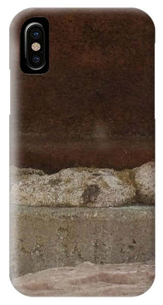 Manhole Cover And Rock IPhone Case