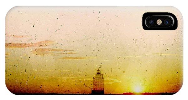 Manitowoc Breakwater Lighthouse IPhone Case