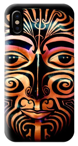 Maori Mask IPhone Case