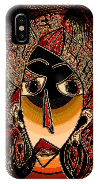 Mustard iPhone Case - Marali by Natalie Holland