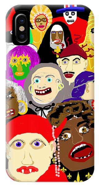 Mardi Gras New Orleans IPhone Case