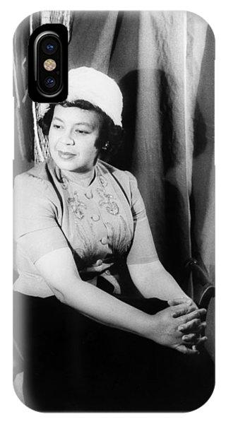 Allison iPhone Case - Margaret Bonds (1913-1972) by Granger