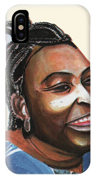 Mariama Ba IPhone Case