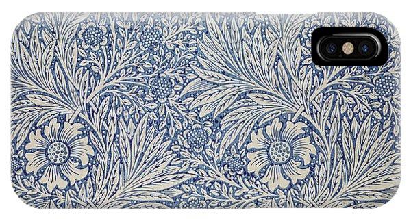 Art And Craft iPhone Case - Marigold Wallpaper Design by William Morris
