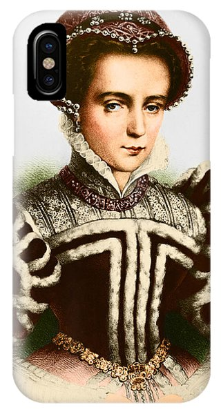 Bloody Mary iPhone Case - Mary I, Queen Of England And Ireland by Omikron