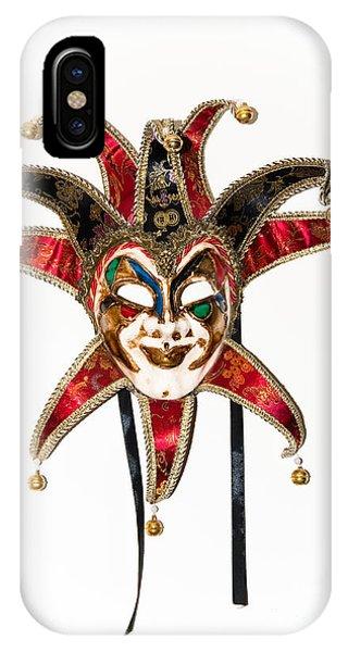 Masquerade Mask.joker IPhone Case