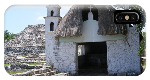 Mayan Chapel IPhone Case