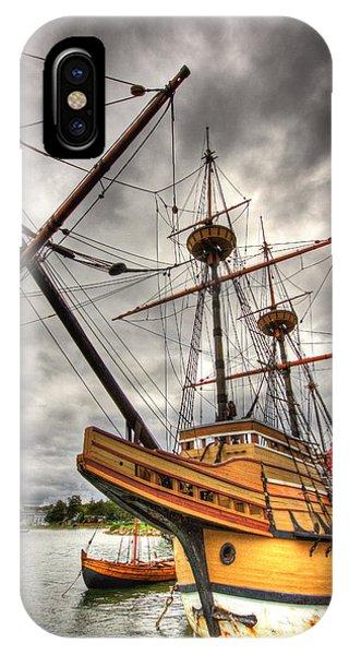 Mayflower II IPhone Case