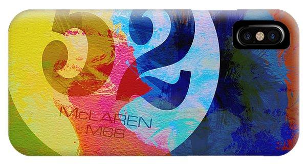 Mclaren Watercolor IPhone Case