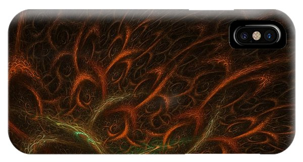 Abstract Digital iPhone Case - Medusa by Lourry Legarde